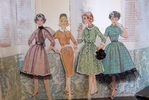 Vintage pattern/paper upcycle