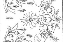 Floral Pattern Embroidery
