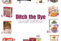 Ditch the Dye / Dye-free eating / by Rosemary Kane