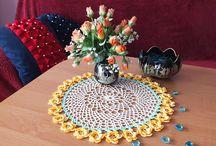 Serwetki, Crochet / Serwety