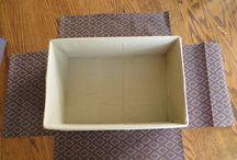 Keeping room ideas / Covered box tutorial
