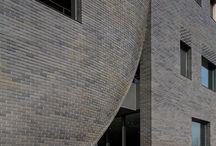 Spændende arkitektur med mursten