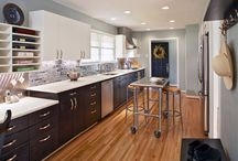 Our Kitchen Projects / These are a few of the kitchens we have remodeled over the years. / by Bruce Graf