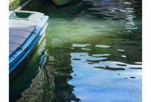 Kresby vodovými barvami