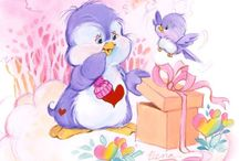 Care Bear Cousins   Cozy Heart Penguin / .
