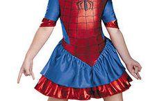 Disfraz súper héroes niñas