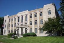 Sherman County Courthouse / Art Deco courthouse in Goodland, Kansas