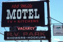 100 Mile Motel & RV Park / Housekeeping units, DD phones, cable TV, guest laundry facilities, pay phone. Commercial rates available. 20 serviced sites, sani station, showers, flush toilets. Hiking, cycling, winter activities available nearby. Shopping & restaurant nearby. MasterCard, Visa & Direct Debit.