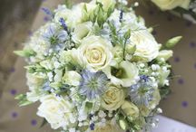 wedding flowers / All the beautiful florals I see at weddings by talented Yorkshire florists.