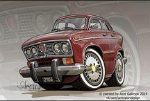 Рисунок автомобили