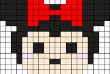 tsum tsum disney crochet squares