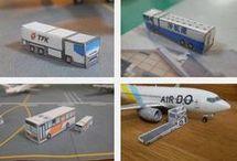 Miniature airport, railway