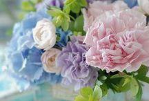 Pretty Flower Arrangements / by Michelle Roe