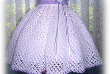 vestido blco lila hermoso