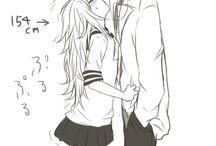 Słodkie pary Anime