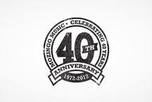 Music Anniversary Logos