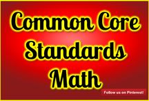 Common Core Standards Math / Common Core Math Standards help make math fun!  Do you have a Common Core Math Standards you'd like to share? Contact me to become a contributor on this board: http://mathfilefoldergames.com/contact