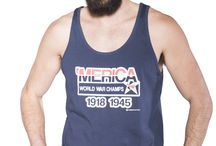 Patriotic Men's Tanks & Tees / You're from a country of champions, and don't you forget it.