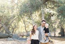 Family portrait ideas and clothing inspiration
