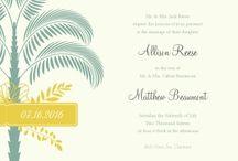 Destination Wedding Inspiration / Planning a destination wedding? Get inspired with printable invites, decorations, DIY ideas & more!