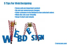 Web Design  / This board describes few tips about web design.