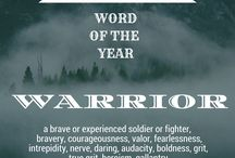 Word of the Year 2017 : Warrior