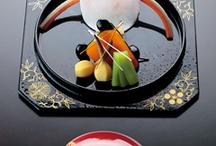 japanese traditional cuisine / La neve  Verra' quest'anno la neve che insieme a te contemplai? Matsu Basho