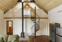 Small house with mezzanine
