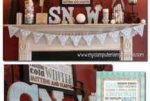 January winter decor