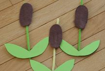 Pond Preschool Theme / Pond theme crafts, activities, snacks and games