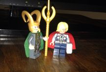 Big adventures of Little Loki and Tiny Thor / by Kelli Kirmer