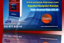Gudang Makalah / Tempat Download Makalah Perpajakan, Akuntansi Perpajakan dan GCG gratis.