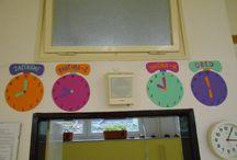 Moje výzdoba třídy / Co všechno jsem vytvořila pro své děti ve třídě, aby se jim v ní líbilo a všem nám bylo ve třídě hezky:)))