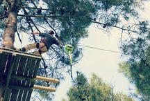 CRAZY JUMP / Le Crazy Jump : Au départ d'une plateforme de 15 mètres de hauteur, oserez vous vous lancer pour une chute libre de 3.60 m ?  Le système de freinage automatique vous amènera confortablement à terre. Entrée comprise avec votre billet du parc, à partir de 12 ans.
