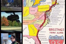 I95 Road Trip / Savannah 1. DC for 2. NYC for 2. Boston 1. Maine ? Fly out. Rent car. Drive home.