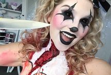 Makeup&nails for Halloween!