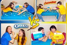 Oréo Vs Carambar Tassimo - Very Good Moment / La battle Oréo vs Carambar a fait rage chez nos Hôtes, avec les défis proposés lors du Moment Tassimo ! Tout le monde a pu goûter à ses deux nouvelles saveurs, tout en passant un bon Moment avec ses proches.