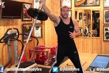 JHHF Fitness Training Master Class / England Rugby Player and Wasps Captain James Haskell shares his training and fitness knowledge on JHTV. How to do specific exercises. Whole workout routine and guest specialists. Core, Upper Body, Fat Blasts, Leg Day and more.