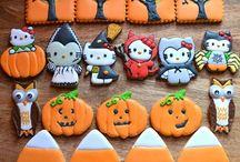 Halloweenské perníčky