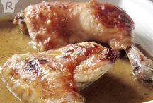 Recetas de aves y carne / Recetas de cocina paso a paso para preparar todo tipo de platos con aves y carne | Meat, bird and fowl recipes