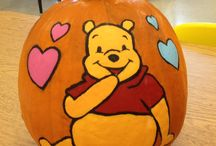 Halloween Pumpkins / Halloween, Pumpkins, Art, pumpkin Painting, Carving pumpkins / by Laura Deni
