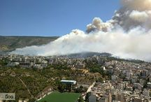 big fire in Athens 17/7/2015