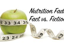 Nutrition Facts vs. Fiction / Getting to the bottom of the nutrition science - information from registered dietitians and health professionals that aren't jumping on the fad bandwagon without the research.