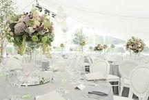 Weddings / Beautiful white & silver wedding
