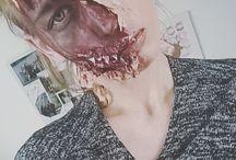 Scaryy makeup