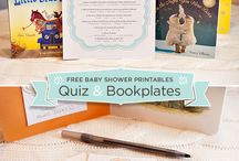 baby shower: book theme