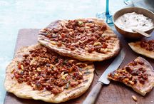 Lamb Pizza Night / Whether you plan on having a cozy night in or inviting a group of people over, serving lamb pizza is a great idea!  / by Tri-Lamb Group
