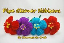 Pipe cleaner art