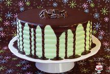 desert cakes on their own