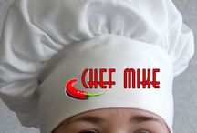 Personalised Foodie gifts Aprons, chef hats and oven gloves